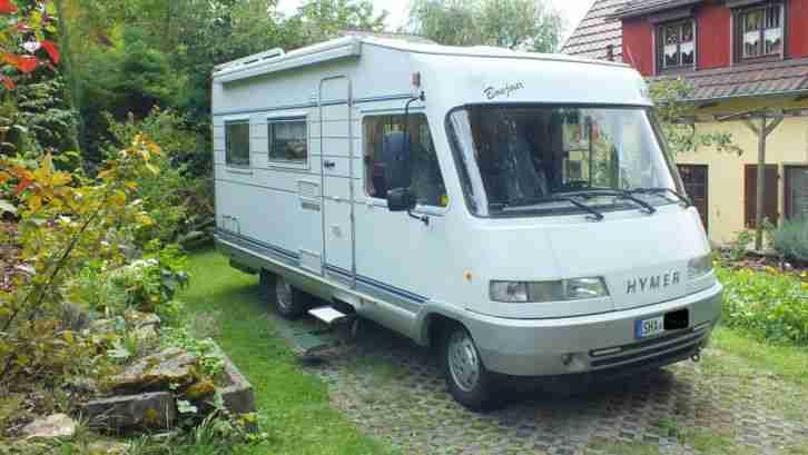 hymer eriba b 534 der klassiker wohnwagen wohnmobile. Black Bedroom Furniture Sets. Home Design Ideas