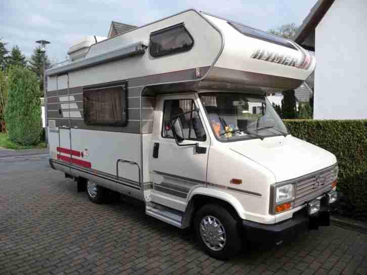 hymer eriba camp 55 peugeot j5 diesel 54 wohnwagen wohnmobile. Black Bedroom Furniture Sets. Home Design Ideas