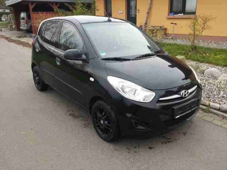 Hyndai i10 - Phantom Black - 51KW (69 PS) - Modell 5 Star Edition