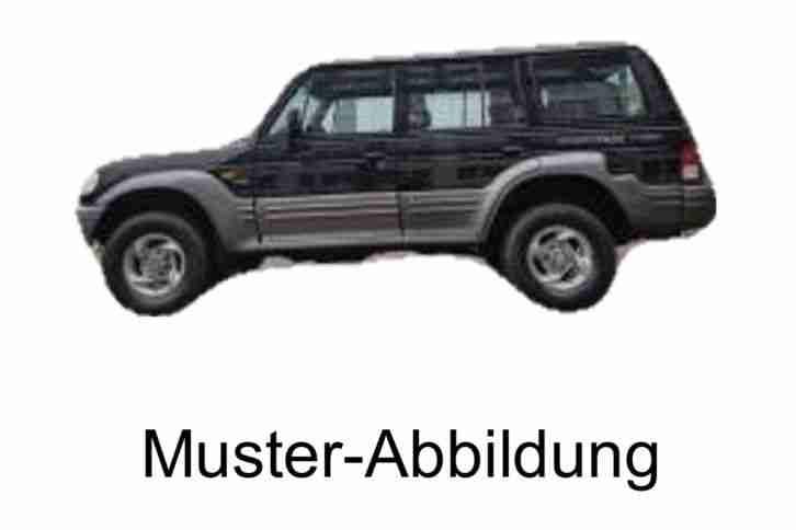 hyundai mitsubishi galloper 2 5 l diesel angebote. Black Bedroom Furniture Sets. Home Design Ideas