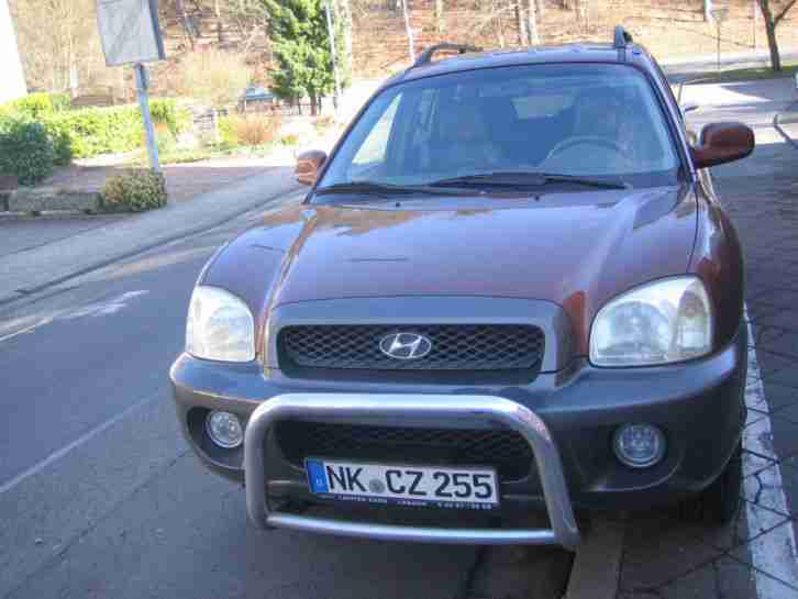 hyundai santa fe bj 2002 allrad 2 7 angebote kategorie hyundai. Black Bedroom Furniture Sets. Home Design Ideas
