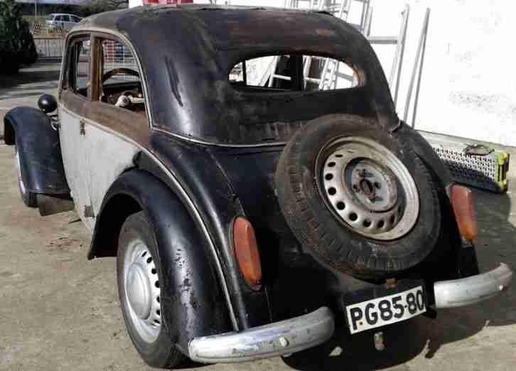 ifa dkw f8 bj 1955 kultiges ddr topseller oldtimer car. Black Bedroom Furniture Sets. Home Design Ideas