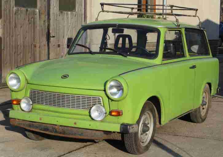 ifa trabant 601 kombi mit kfz brief ddr angebote. Black Bedroom Furniture Sets. Home Design Ideas