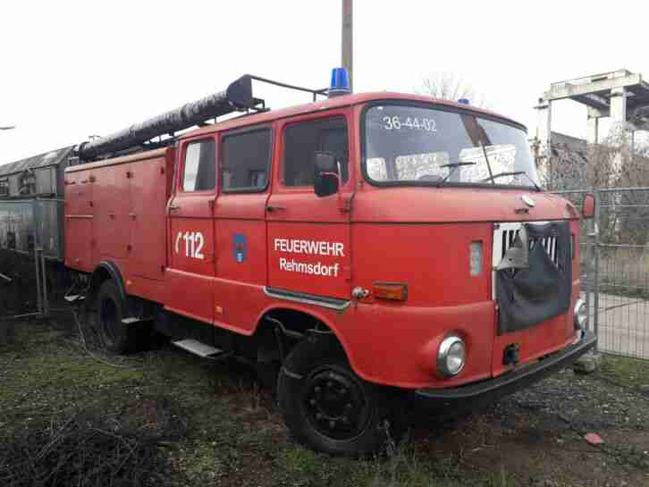 ifa w50 feuerwehr l lf baujahr 1976 oldtimer. Black Bedroom Furniture Sets. Home Design Ideas