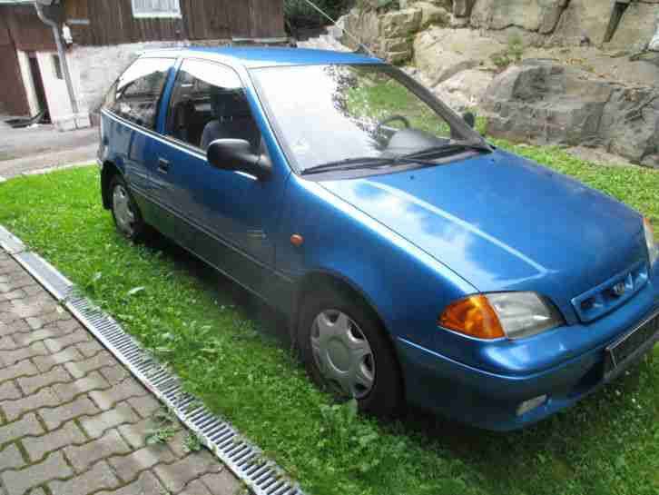 Ideales Winterauto Subaru Justy