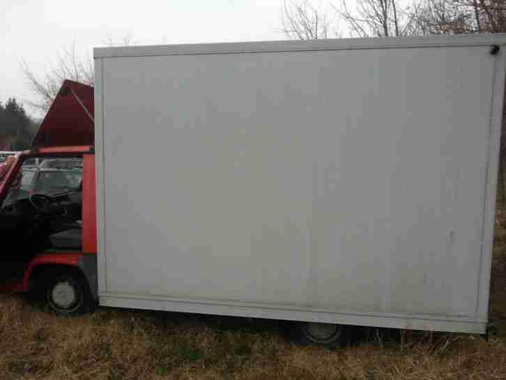 imbisswagen b ckerwagen imbiss mb 100 65000. Black Bedroom Furniture Sets. Home Design Ideas