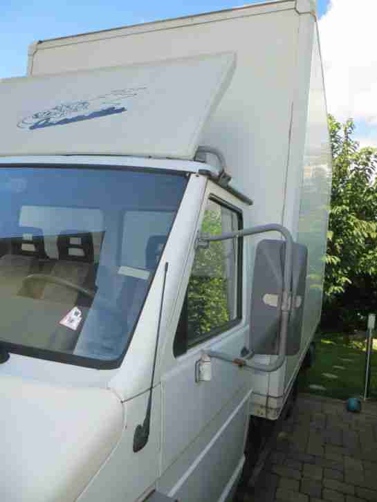 Iveco Daily 49-10 Diesel Koffer mit 500kg Dautel Ladebordwand LBW 1995