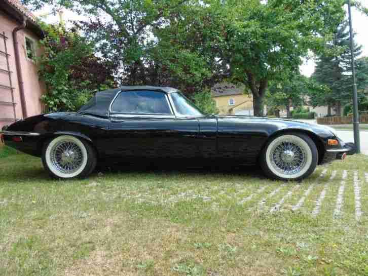 jaguar e type 5 3 v12 s3 cabrio f r tolle. Black Bedroom Furniture Sets. Home Design Ideas