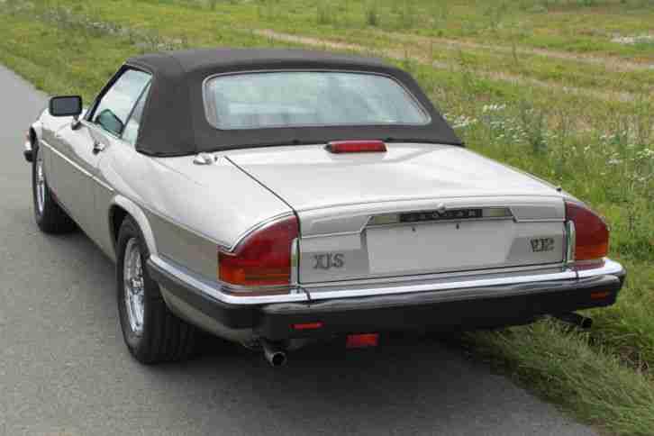 jaguar xjs cabrio 1989 topaz braun 5 3 v12 tolle. Black Bedroom Furniture Sets. Home Design Ideas