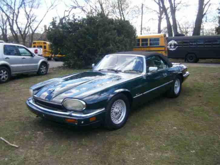 jaguar xjs cabrio 1994 6 cylinder 4 0l british tolle angebote in jaguar. Black Bedroom Furniture Sets. Home Design Ideas