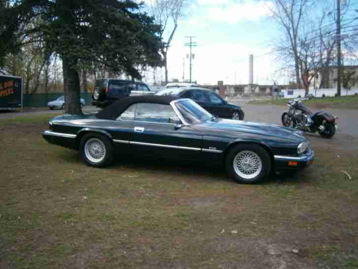 JAGUAR XJS CABRIO 1994 6 CYLINDER 4.0L BRITISH RACING GREEN
