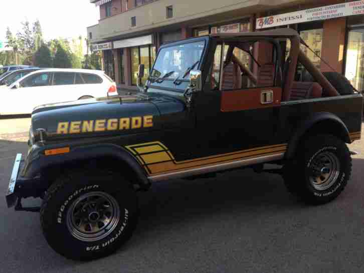 JEEP CJ7 RENEGADE