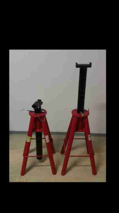 Jack stand Stuetzbock 2 pcs. Heavy Duty bis 10 to.