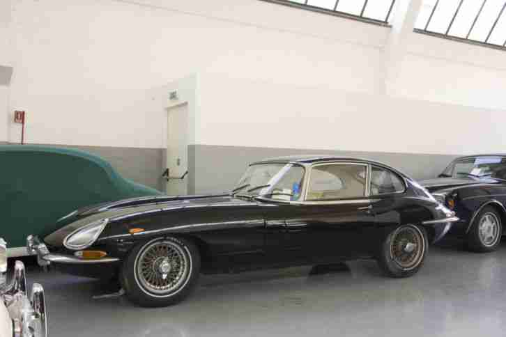 Jaguar E TYPE II 2 2 1966 4.200 konserviert