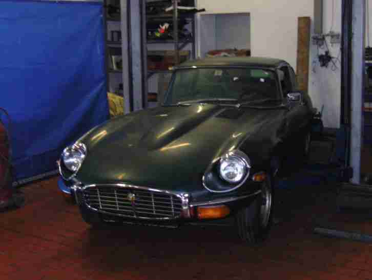 , E Type, V12, Serie 3 Coupe, Restaurationsobjekt