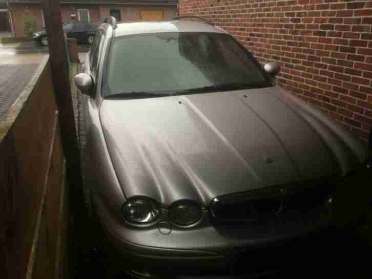 Jaguar X Type Estate 2. 0Diesel , 2005, Navi , Tel, Klima, Leder, Defekt, Export