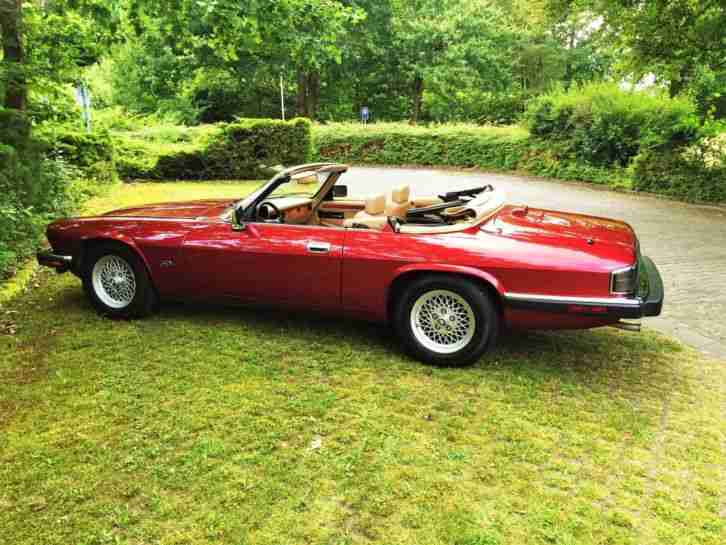 Jaguar XJS Cabrio Traum Farb-Kombi ..Summer is calling ... 1.HD ori 58169 meilen