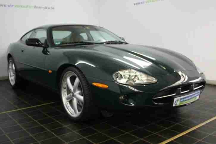 Jaguar XK8 Coupe´ 4.0 BRITISH RACING GREEN 20 Zoll