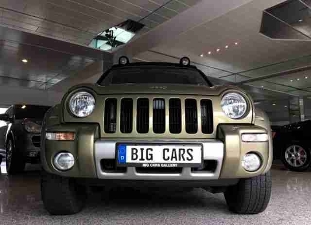 Jeep Cherokee 2.8 CRD Limited Renegade Autom. Leder