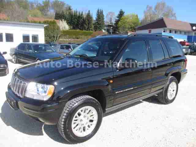 Jeep Grand Cherokee 2.7 CRD Limited *DPF*1.Hand*