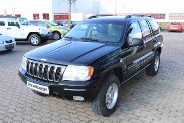jeep grand cherokee 2 7 crd limited gr ne angebote dem. Black Bedroom Furniture Sets. Home Design Ideas