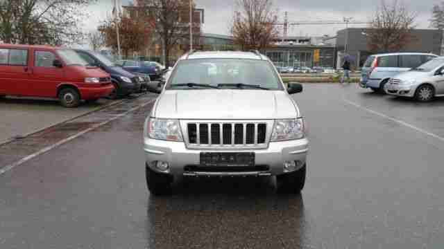 Jeep Grand Cherokee 2.7 CRD Limited PARTIKELFILTER