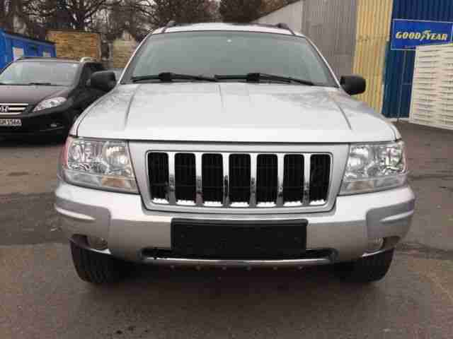 Jeep Grand Cherokee 2.7 CRD Overland leder