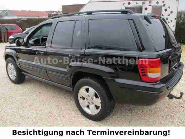 jeep grand cherokee 4 7 limited euro 2 wenig km angebote. Black Bedroom Furniture Sets. Home Design Ideas