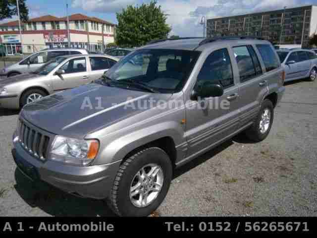 Jeep Grand Cherokee 4.7 Limited, Leder 4x4