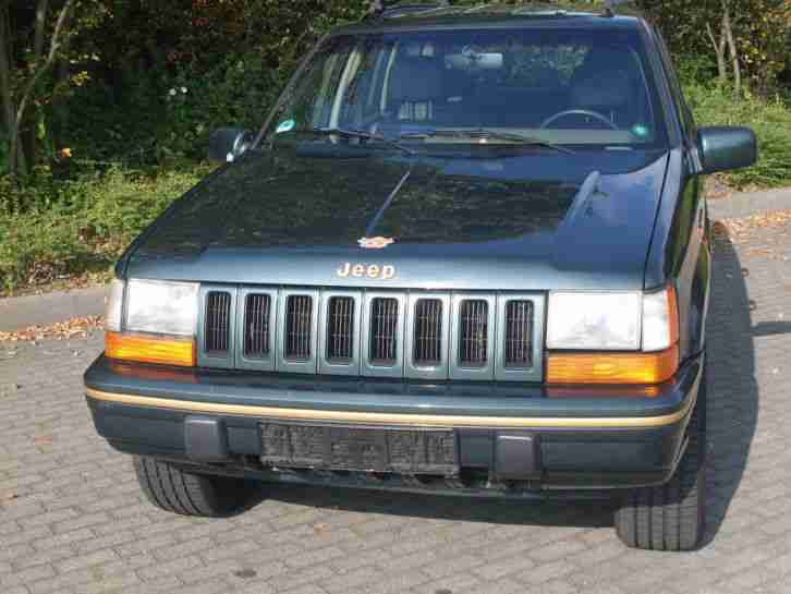 Jeep Grand Cherokee Limited ZJ V8 Euro 2 Tüv 01/16 172tkm