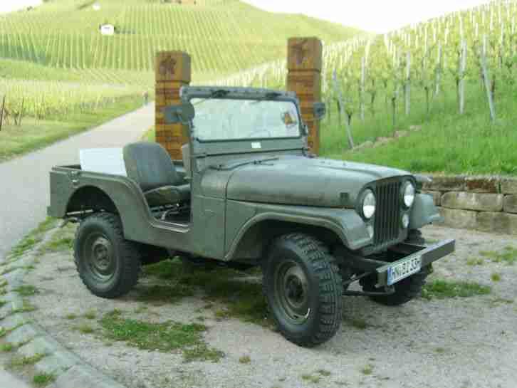 jeep kaiser cj 5 schweizer armee wundersch ner die