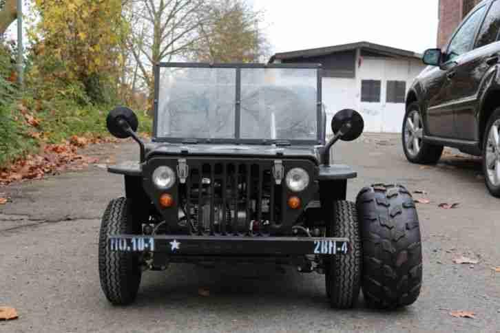 jeep mini willys f r kinder neu ca 10km angebote dem. Black Bedroom Furniture Sets. Home Design Ideas