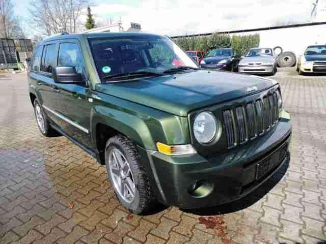 jeep patriot 2 4 cvt limited 4x4 sport leder angebote dem auto von anderen marken. Black Bedroom Furniture Sets. Home Design Ideas