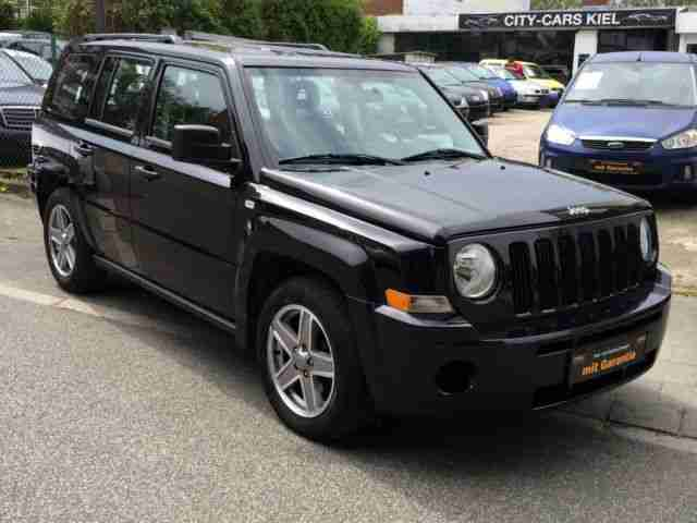 Jeep Patriot Sport Klima 2008 Alu TOP