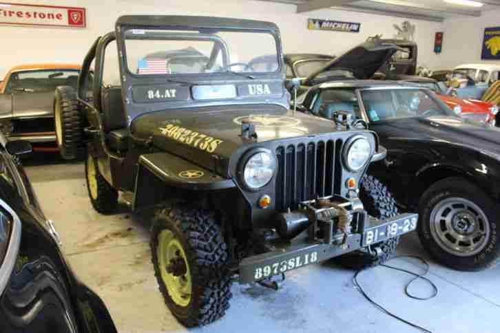 jeep willys cj3 a topseller oldtimer car group. Black Bedroom Furniture Sets. Home Design Ideas