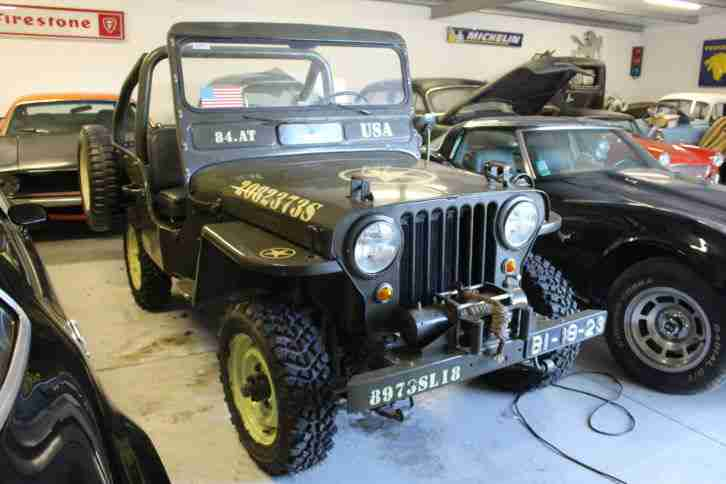 Jeep Willys CJ3 A