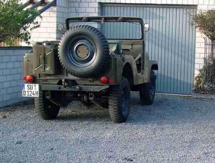 jeep willys kaiser cj5 m38a 1 oldtimer us car angebote. Black Bedroom Furniture Sets. Home Design Ideas