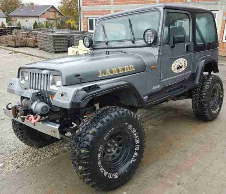 Jeep Wrangler 4.0 H.o Off Road Bj 1991 Hammerteil