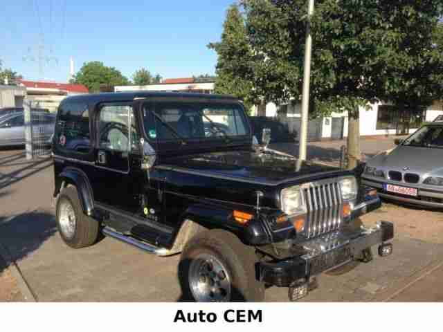 Jeep Wrangler Laredo 4.2 Hard Top und Soft Top