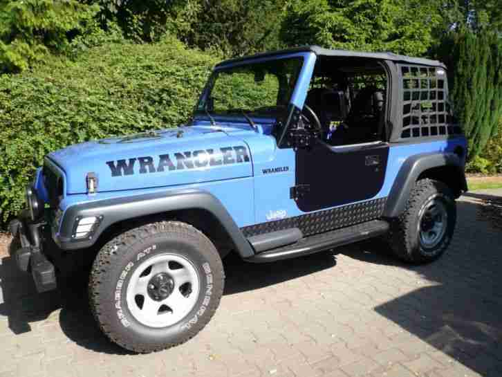 jeep wrangler tj 2 5 die besten angebote amerikanischen autos. Black Bedroom Furniture Sets. Home Design Ideas