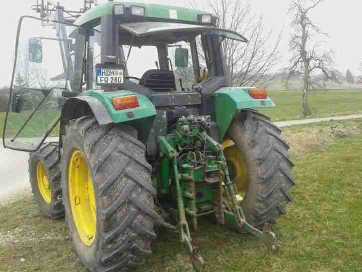 john deere 6200 schlepper traktor mit nutzfahrzeuge
