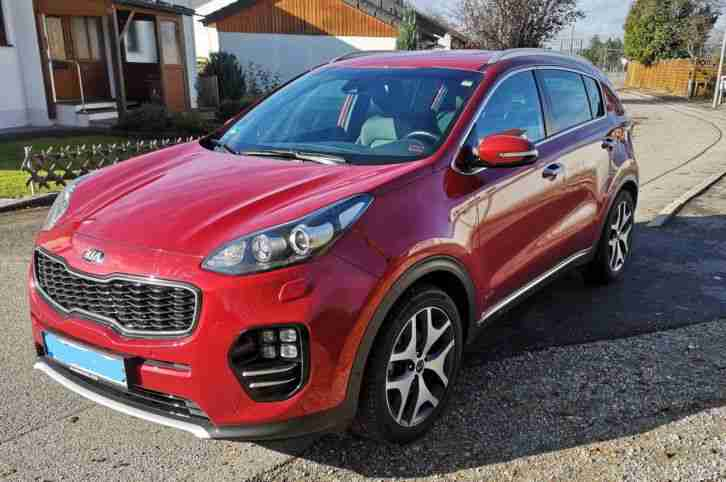 kia sportage 2016 gt line 1 6 t gdi awd benzin tolle. Black Bedroom Furniture Sets. Home Design Ideas