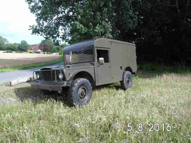 Kaiser Jeep Ambulanz 1968 original nur 13439 Meilen !!