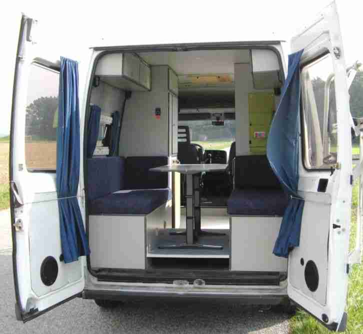 kastenwagen ducato 230l heckbett servo wohnwagen. Black Bedroom Furniture Sets. Home Design Ideas