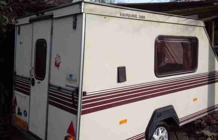Wohnwagen Mit Außenküche : Kip kk 300 aussenküche hubdach wohnwagen 700 kg wohnwagen