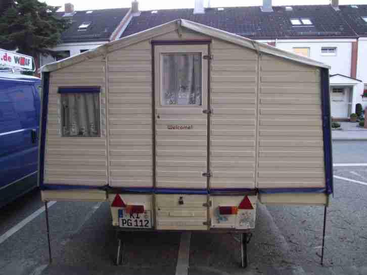 klappwohnwagen reimann wigwam 303 mit 1 jahr wohnwagen. Black Bedroom Furniture Sets. Home Design Ideas
