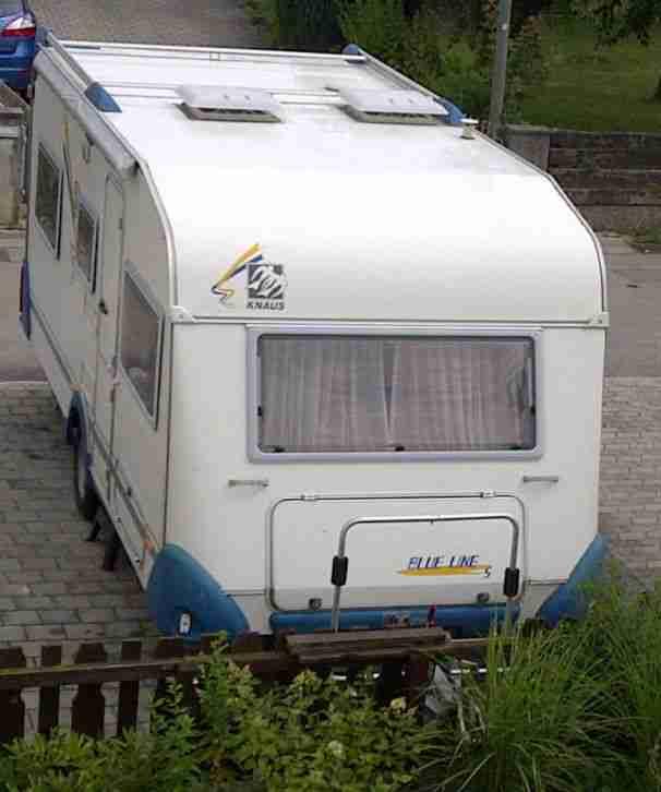knaus blue line s dwind tk wohnwagen mit wohnwagen. Black Bedroom Furniture Sets. Home Design Ideas