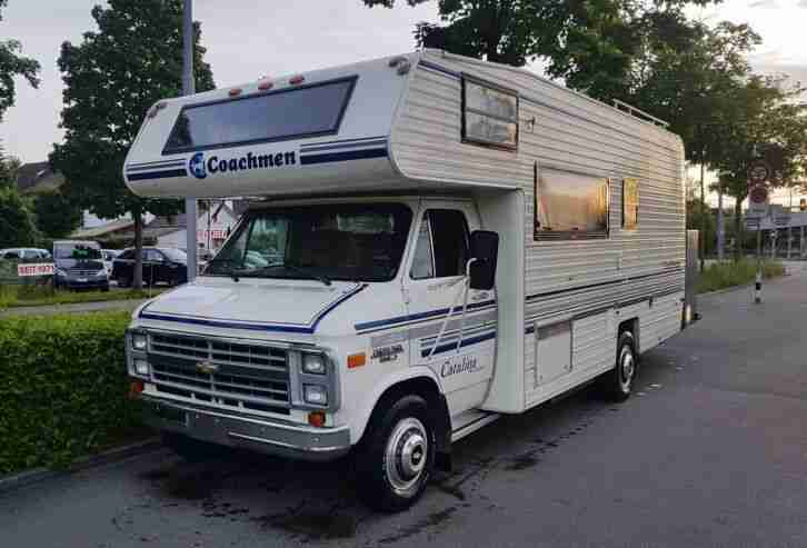 Kult US Wohnmobil Chevrolet VAN G30 Coachmen USA Chevy
