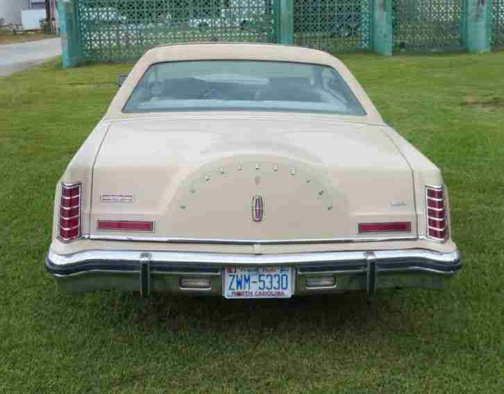 LINCOLN MARK V 1979 COUPE SCHIEBEDACH