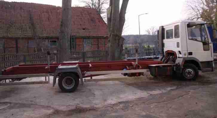 lkw bootstransporter iveco 75 e 15 nutzfahrzeuge angebote. Black Bedroom Furniture Sets. Home Design Ideas